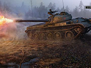 World of Tanks - Char russe T-54